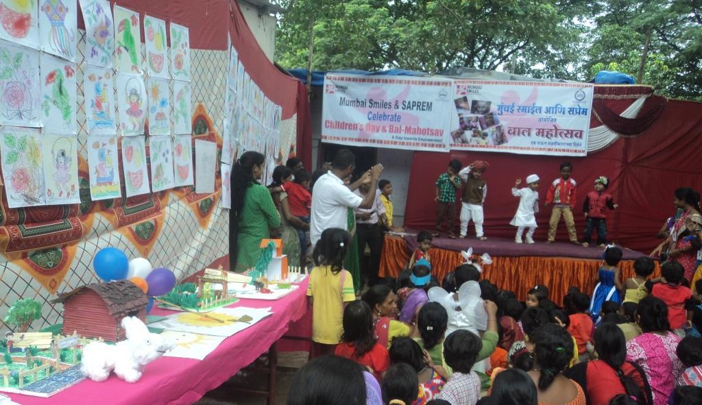 Balwadi children's performance and Exhibition of art work