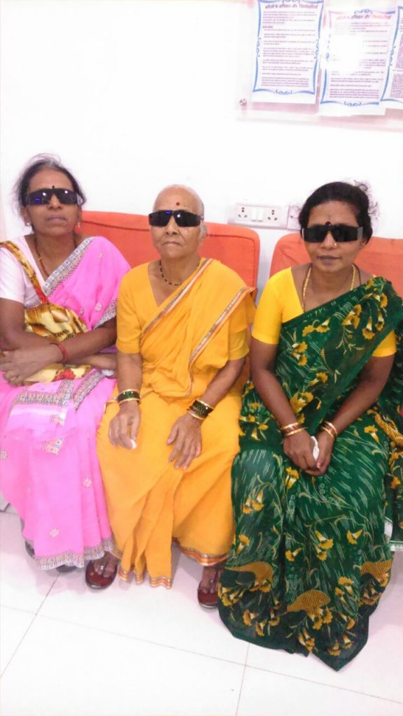 Cataract Patients after surgery