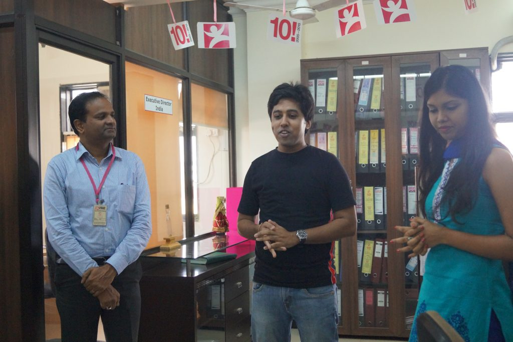 Our Volunteer Chiranshu sharing his experience working with us