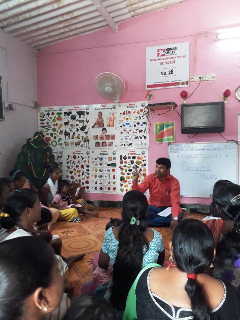 Preschool Parents-Teachers Meeting held   Mumbai Smiles